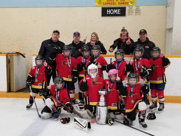 Novice Flames Gold Valley East Renegades