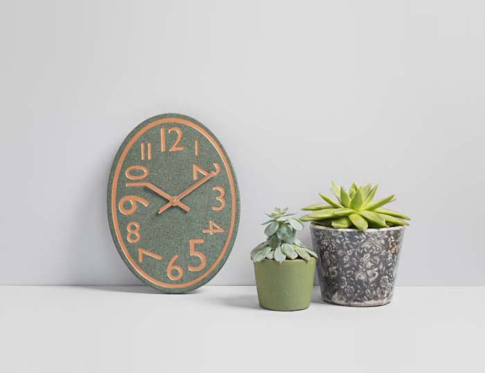 Our Locally Sourced Slate Quirky Clocks