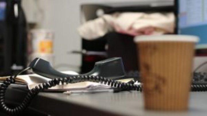オフィスと電話