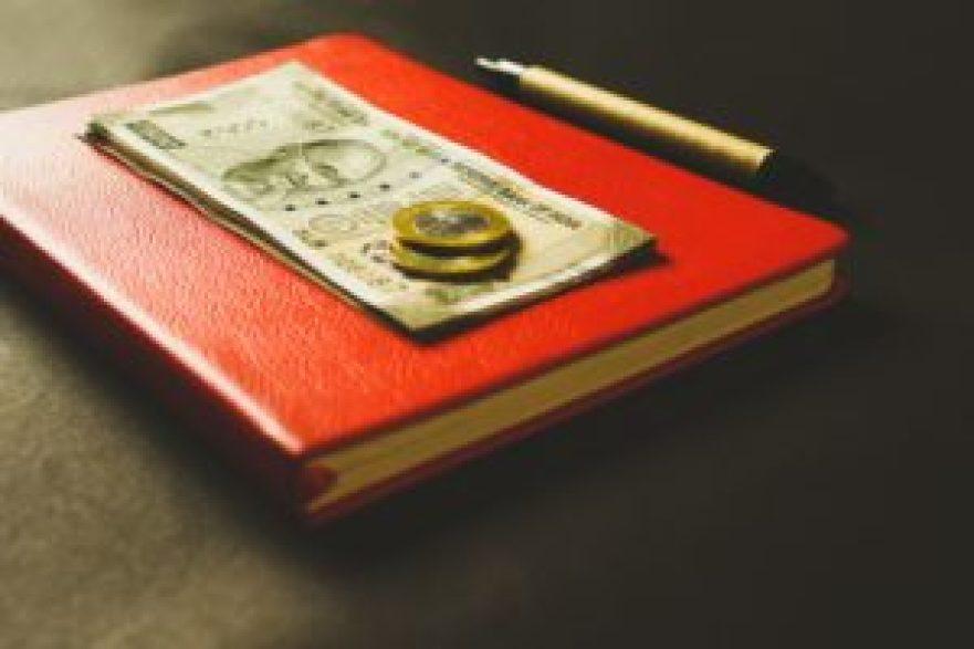 貨幣とメモ帳