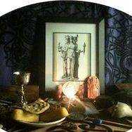 Hekate altar, Queen of the Witches, Conjure Work