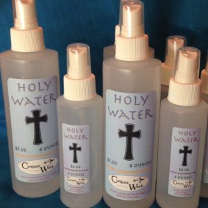 Holy Water by Magus of www.conjurework.com Hoodoo and Ceremonial Magick supplies by Kevin Trent Boswell