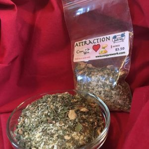 Attraction Bath Mix, by Magus (Kevin Trent Boswell) in the Conjure Shop at www.conjurework.com sorcerous supplies and services