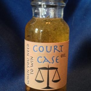 Court Case Oil, made by Magus at Conjure Work, sorcery supplies and services