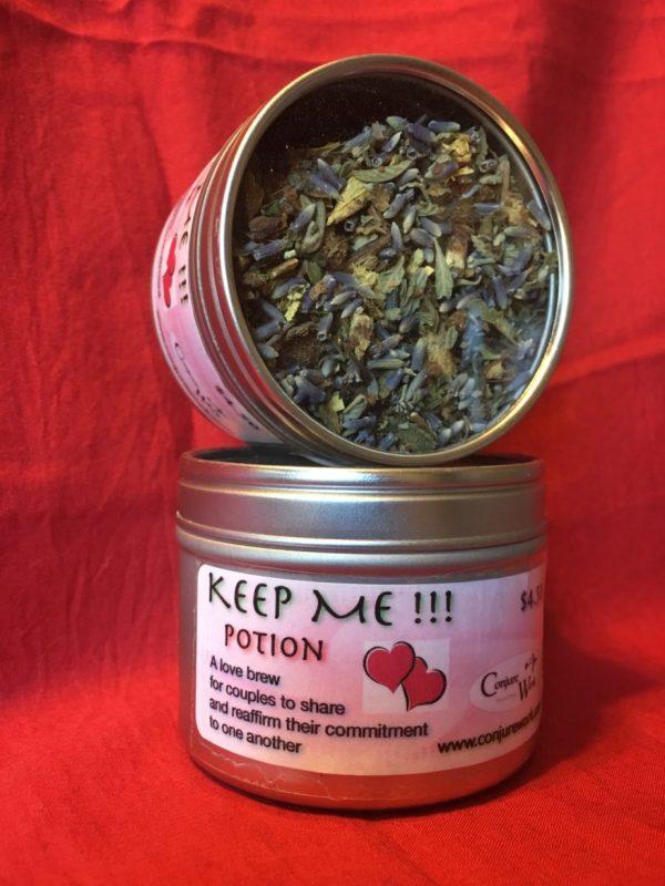Keep Me! Love Potion, in Potions, Conjure Shop, conjurework.com herbal teas
