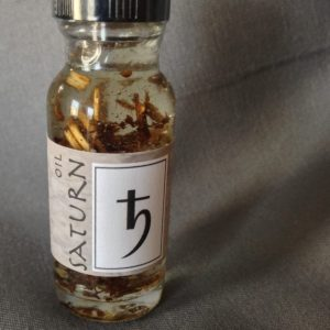 Saturn Oil, made by Magus at Conjure Work, sorcery supplies and services