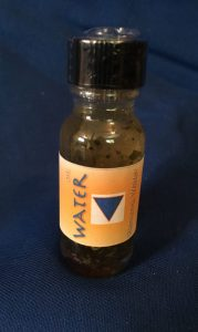 Water Oil; the Elements Series, Elemental Magick; made by Magus at Conjure Work, sorcery supplies and services