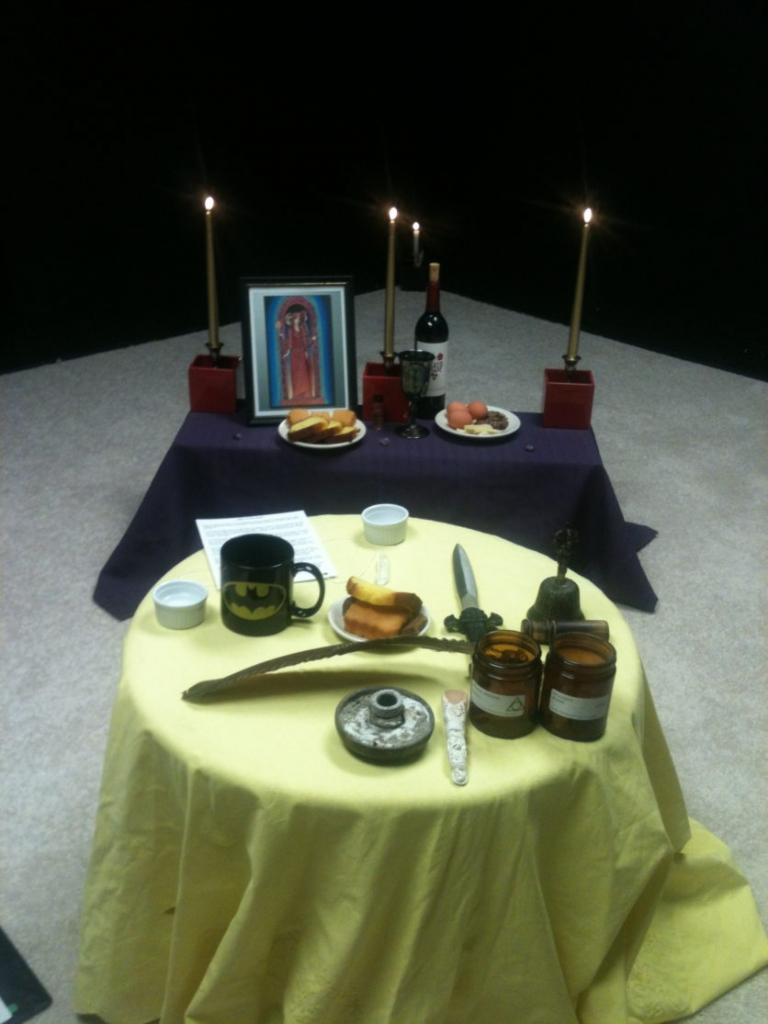 A Closer Look, Photos, Spell for Conjure Coaching Patron, Hekate ritual