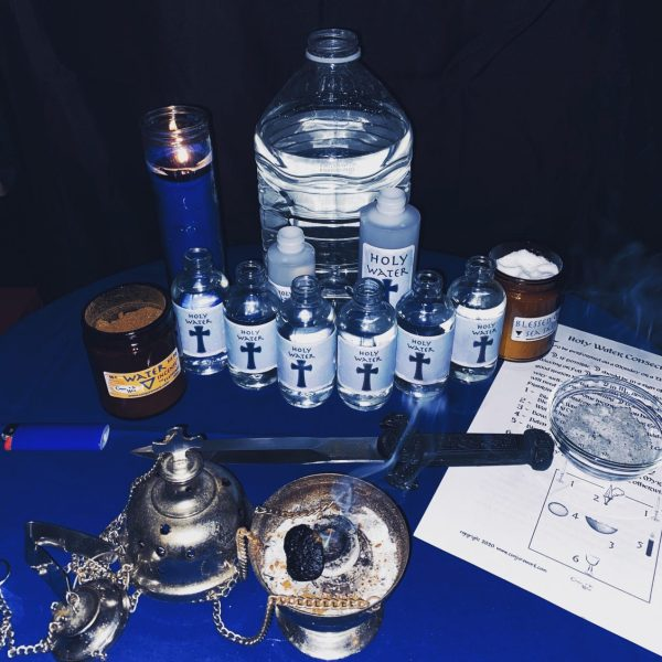 Holy Water, Conjure Work, Hoodoo, sorcery, witchcraft, Ceremonial Magick,