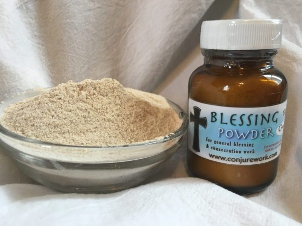 Blessing Powder at Conjure Work, New Age, Metaphysical goods, sorcery, witchcraft and Hoodoo products by Magus (Kevin Trent Boswell)