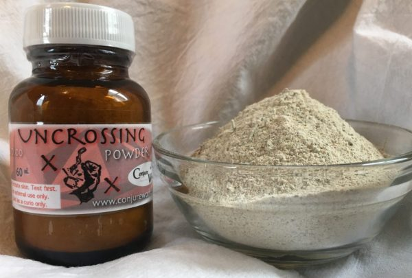 Uncrossing Powder at Conjure Work, sorcery supplies and services, witchcraft and Hoodoo products by Magus (Kevin Trent Boswell)