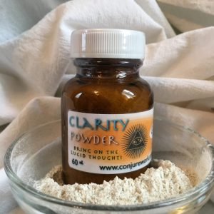 Clarity Powder at Conjure Work, sorcery supplies and services, witchcraft and Hoodoo products by Magus (Kevin Trent Boswell)