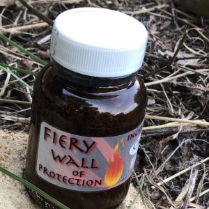 Fiery Wall of Protection Incense, at Conjure Work, sorcery supplies services, witchcraft Hoodoo products high magick
