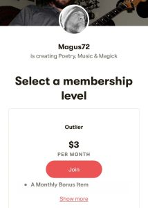 Magus72 on Patreon