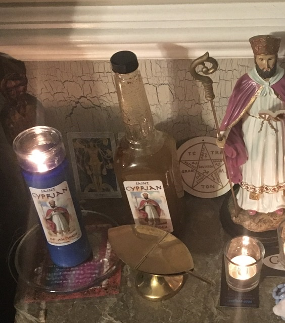 Saint Cyprian of Antioch, patron saint of sorcerers