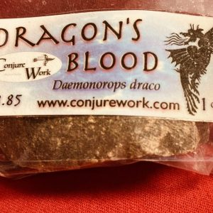 Dragons Blood Resin, Daemonorops draco, Ceremonial Magick, Golden Dawn, Solomonic, High Magick, witchcraft, Wicca