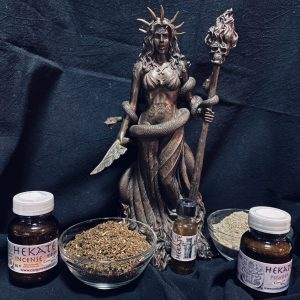 Hekate Oil; Queen of all Witches; Titan, Conjure Work, sorcery supplies and services