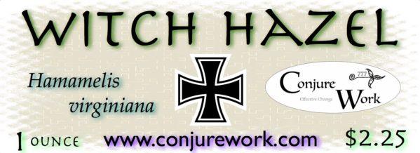 Witch Hazel, Hamamelis virginiana, Conjure Work, herbs for witchcraft spells