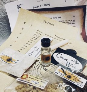Bundle #2, Clarity, Conjure Club, spell kit subscription service