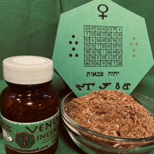 Venus Incense; Planetary Magick with the Goddess of Love and Luxury; Conjure Work, spell supplies and services