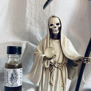 La Santisima Muerte Oil, White