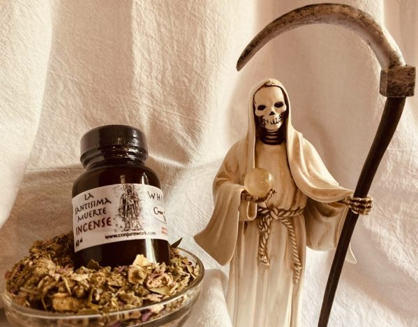 La Santisima Muerte Incense, White