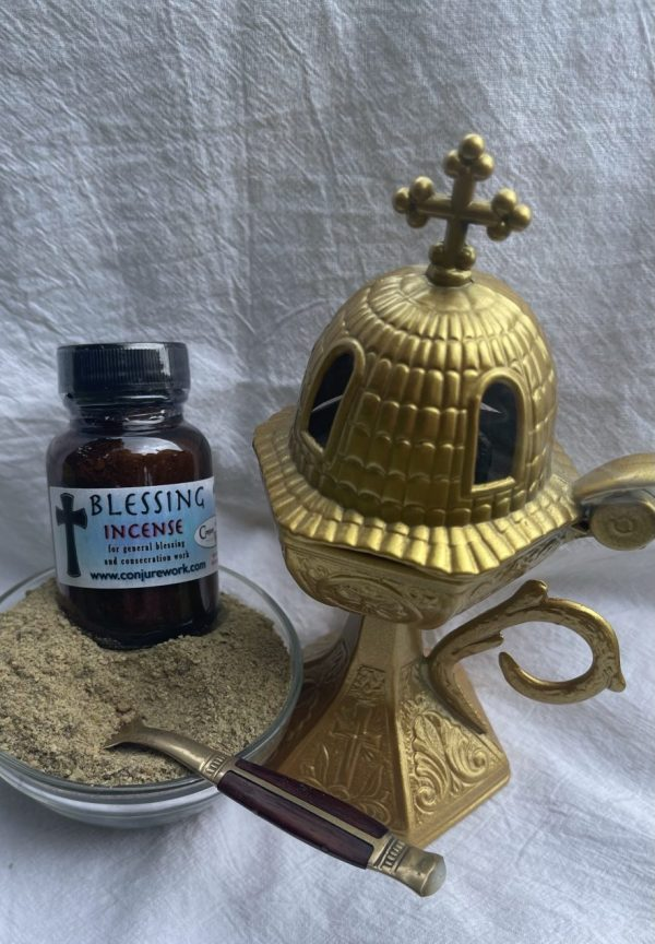Blessing Incense - good fortune, tool consecration