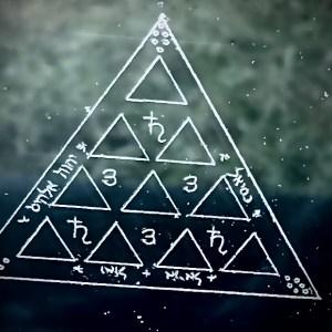Saturn Amulet - The Habit Trap - a solid lead amulet