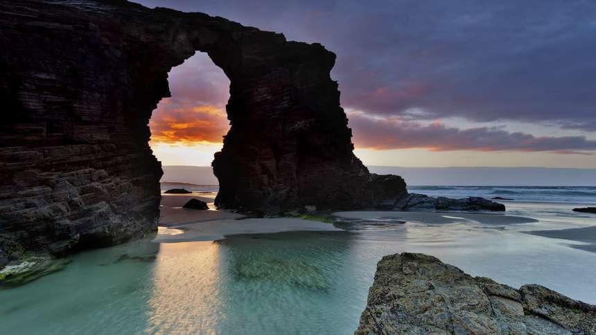 Playa de las catedrales - Ribadeo - Lugo - Galicia