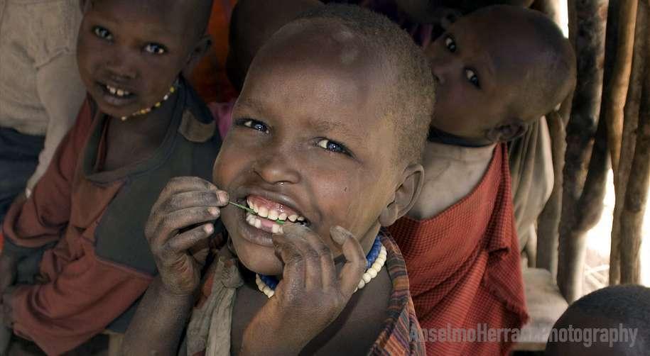 Niños en la escuela - Tanzania