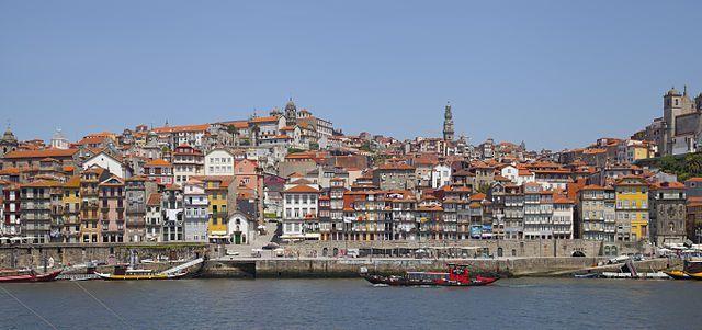 Cais da Ribeira - Oporto - Portugal