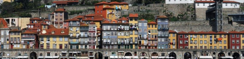 Gigafoto de Ribeira desde Gaia - Oporto
