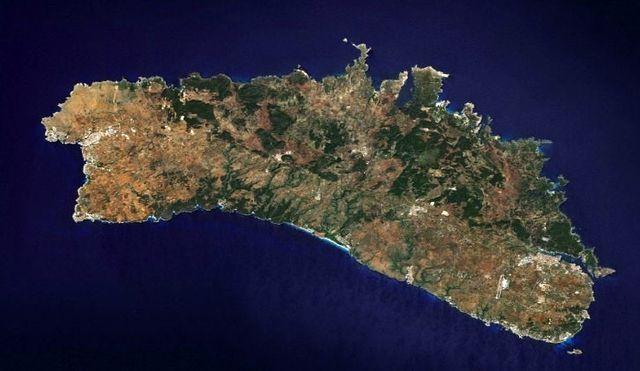 Menorca - Imagen Satélite
