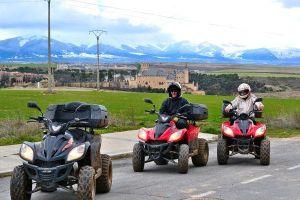 Ruta en quad en Segovia