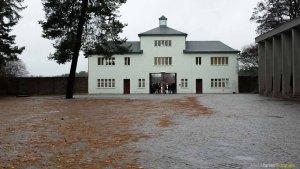 Entrada Campo de Concentración de Sachsenhausen - Alemania