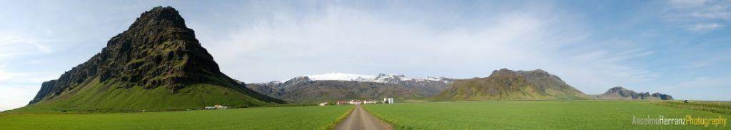Panorámica Eyjafjallajokull