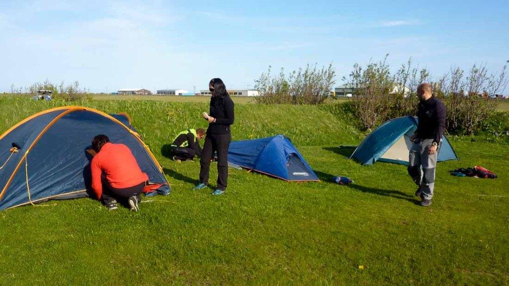 Camping de Vík - Islandia (Foto: Fuencisla Ruiz)