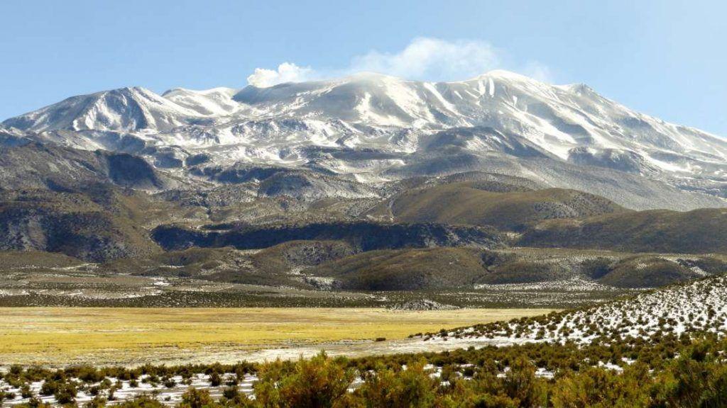 Parque Nacional Volcán Isluga - Chile - Foto: Archivo fotográfico CONAF