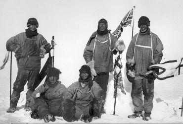 Grupo de Scott - Foto: Henry Robertson «Birdie» Bowers