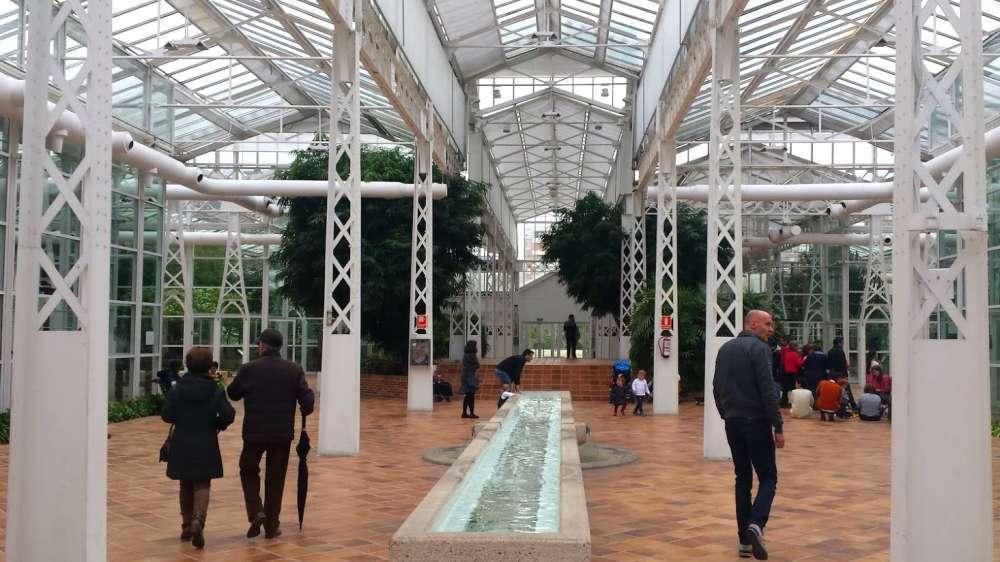 Interior del Palacio de Cristal de Arganzuela - Madrid