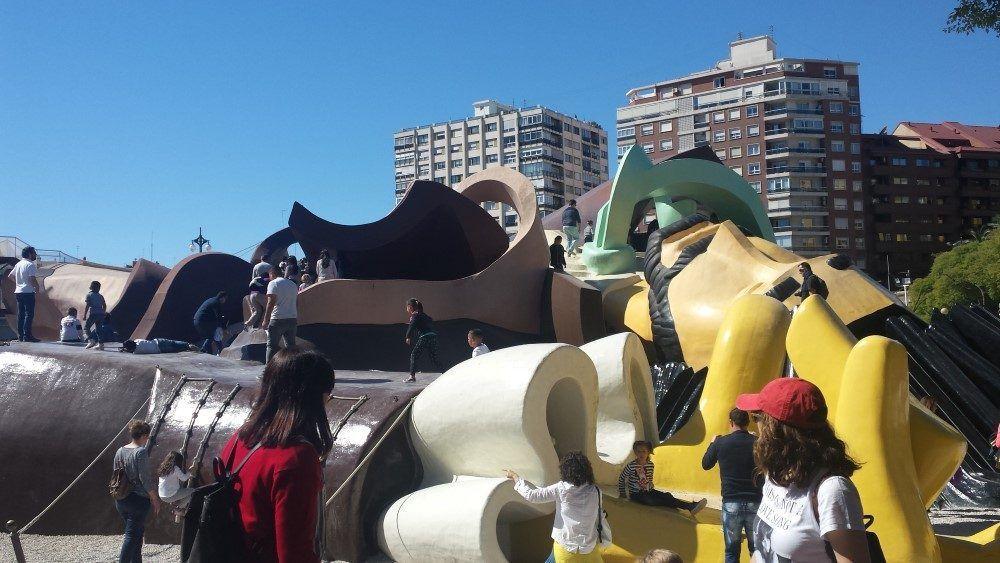 Parque Gulliver - Parque del Turia - Valencia