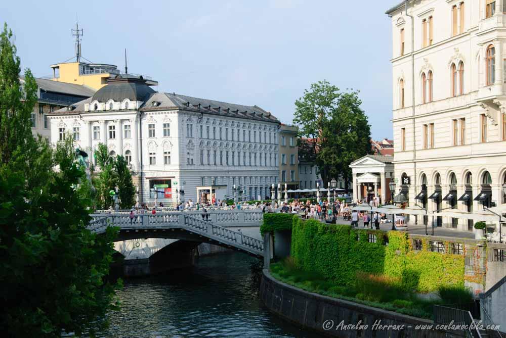 Los Tres Puentes de Liubliana - Eslovenia