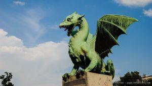 Dragón del Puente de Dragones - Liubliana - Eslovenia