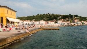 Playas de la ciudad de Piran - Eslovenia