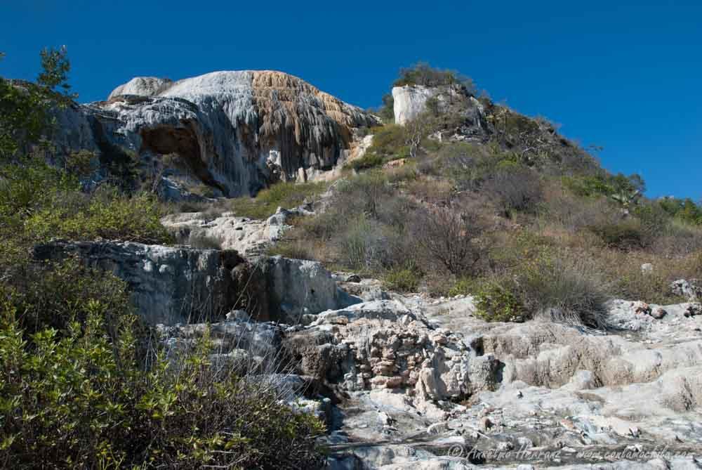 Cascadas de Piedra de Hierve El Agua - Oaxaca; México