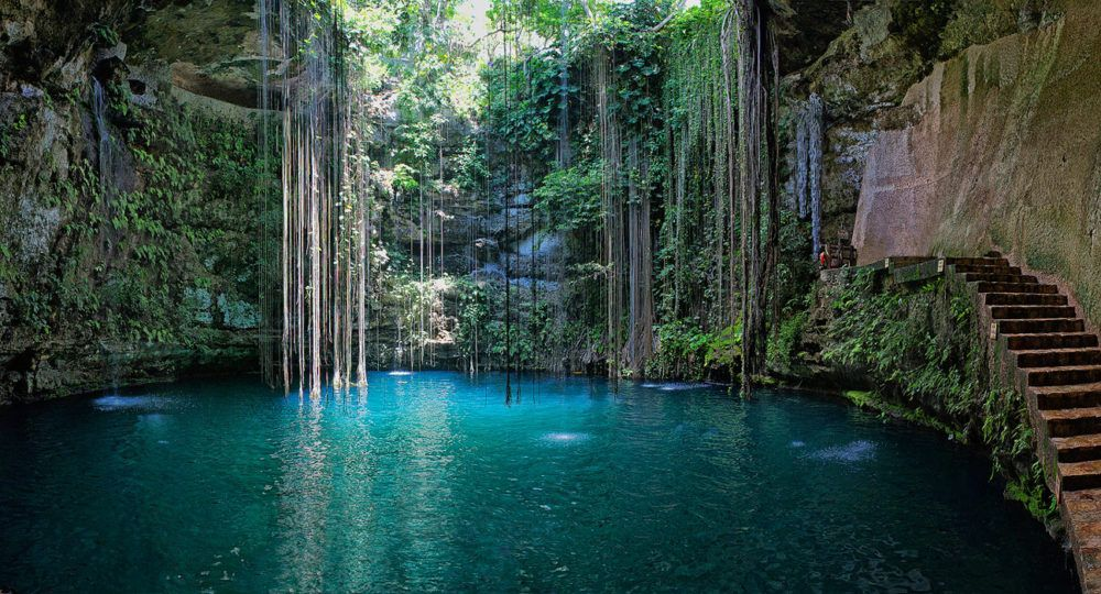 Cenote Ik-Kil - Yucatán - Mexico