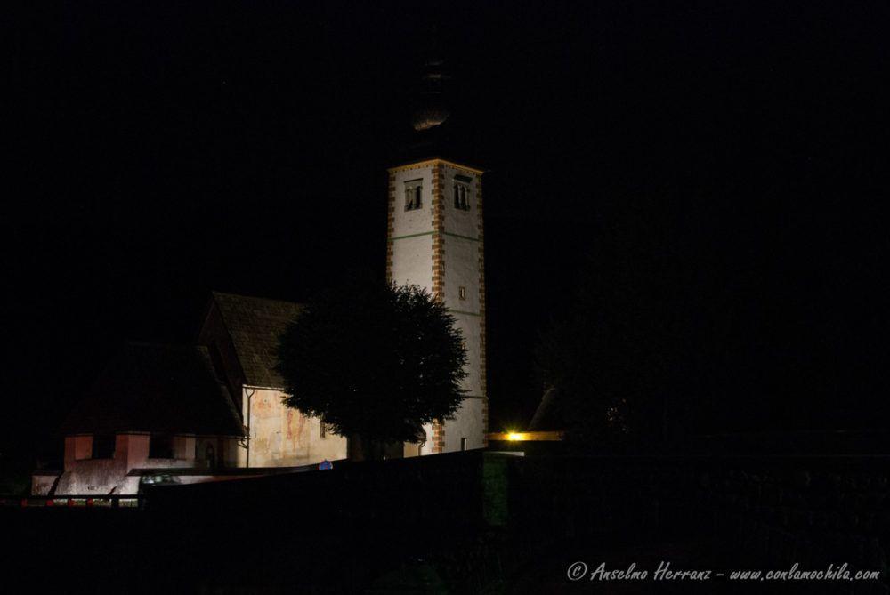 Iglesia San Juan Bautista - Bohinj - Alpes Julianos - Eslovenia