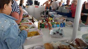 Comida a bordo del Catamaran - Ilhas Desertas. Madeira, Portugal