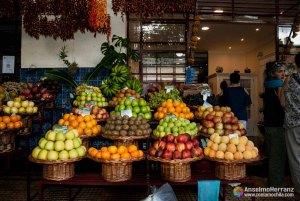 Frutas en el Mercado dos Lavradores - Funchal - Madeira - Portugal