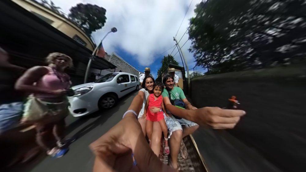 Inicio del Descenso - Carreiros do Monte - Funchal - Madeira